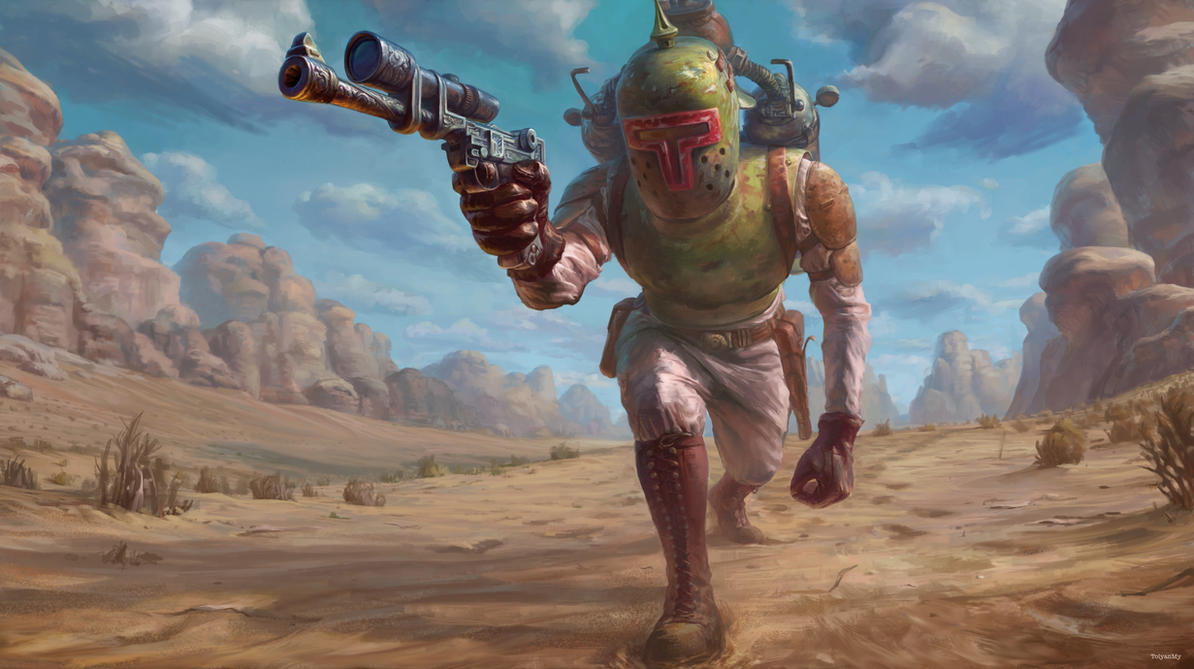 Boba Fett (Star Wars Reimagined Challenge) by TolyanMy