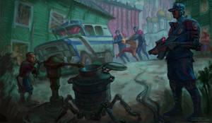 Cyberpunk in Russia