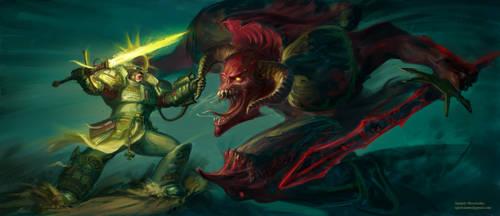 Kaldor Draigo. Warhammer