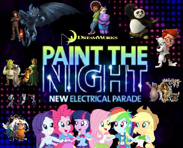 dreamworks paint the night parade by dreamworksmovies on