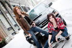 Samantha and Deanna-Supernatural Females