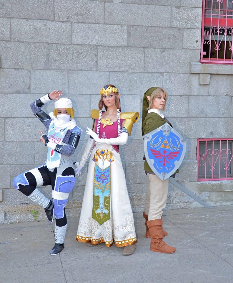 GameThe Legend of Zelda Sheik Cosplay Costume Halloween /&
