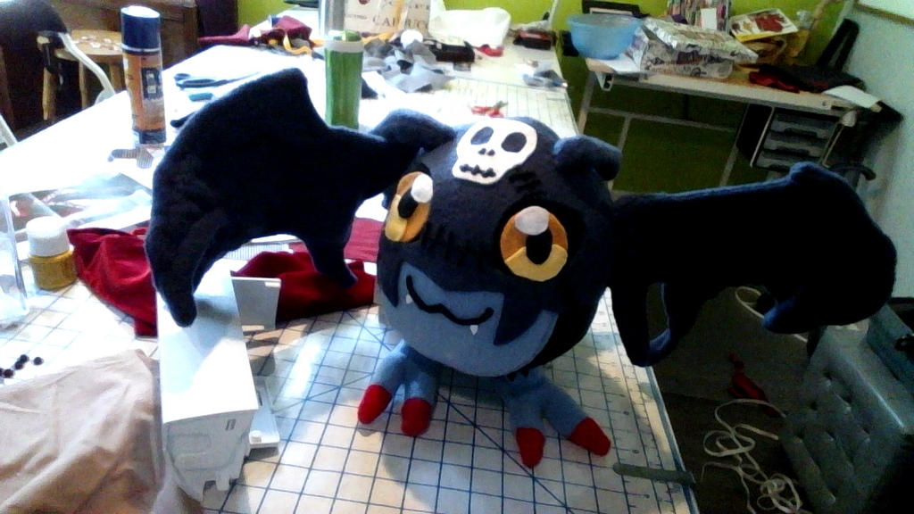 Digimon- DemiDevimon Plush by ryoky28
