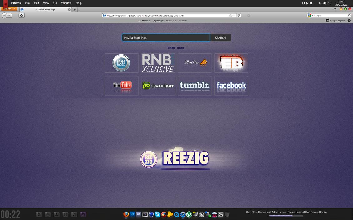 Mozilla Start Page by ganjazutraa