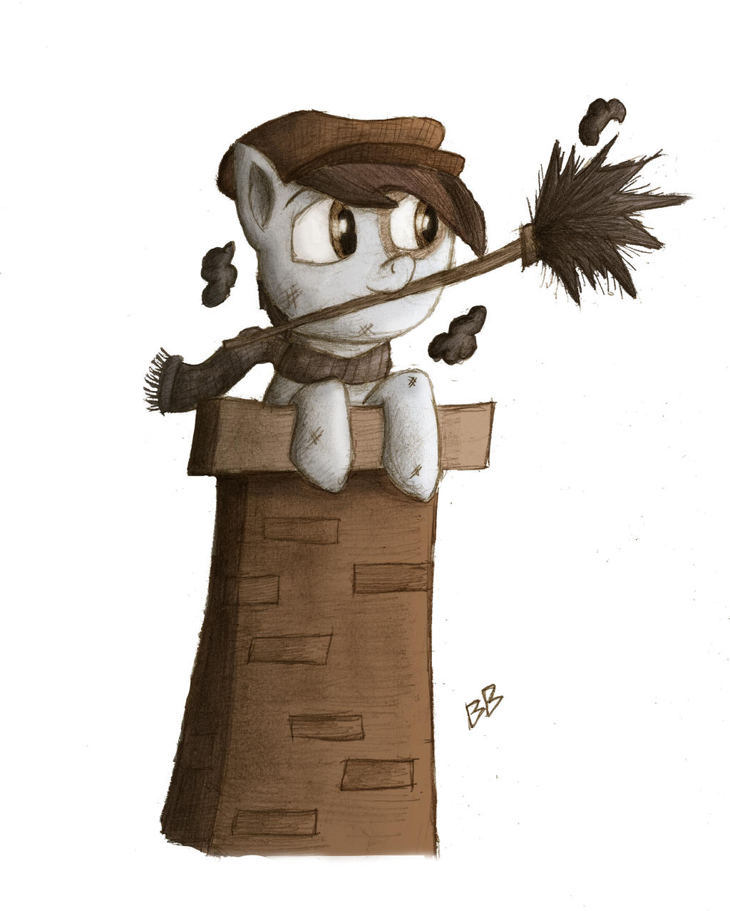 Pipsqueak the Chimney Sweep by charle88