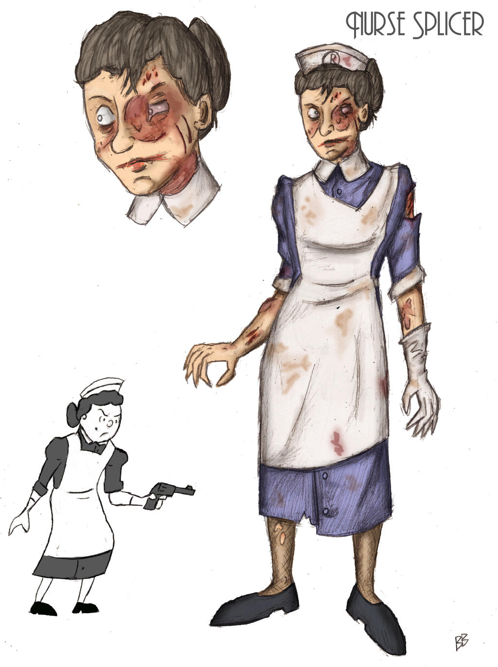 Bioshock: Nurse Splicer by charle88