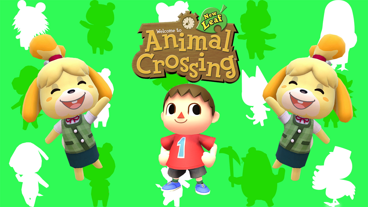 Animal Crossing New Leaf Wallpaper By Static989 On Deviantart