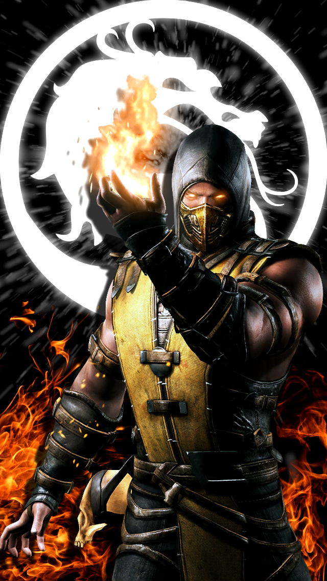 Scorpion mortal kombat wallpaper by static989 on deviantart - Mortal kombat scorpion wallpaper ...
