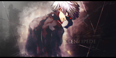 Centipede - Tokyo Ghoul Signature by GenosanGFX