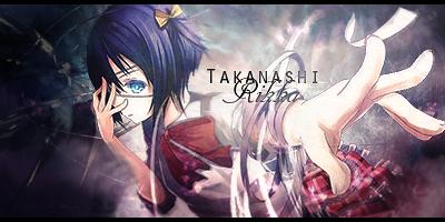 Takanashi Rikka - Chuunibyou Signature by GenosanGFX