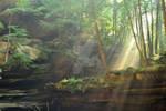 Old Mans Cave Sunrise 6 by HollowXichigO