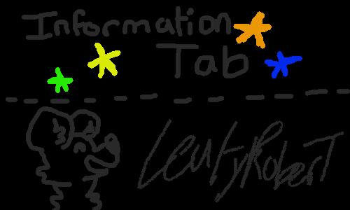 Information-Tab!!! by LeafyRoberT