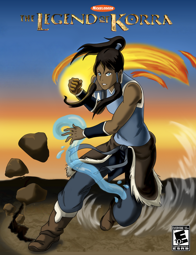 Legend of Korra Poster by Hikari-Dareigan