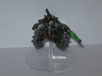 Warhammer 40k Necron Destroyer Lord by Herr-Totenkopf