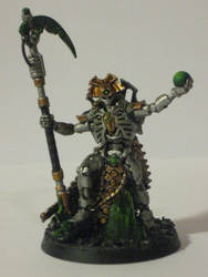 Warhammer 40k Necron Overlord by Herr-Totenkopf