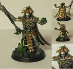 Warhammer 40k Necron Overlord