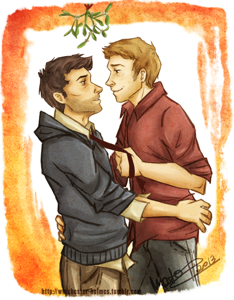 Supernatural Christmas Special by lumen-a