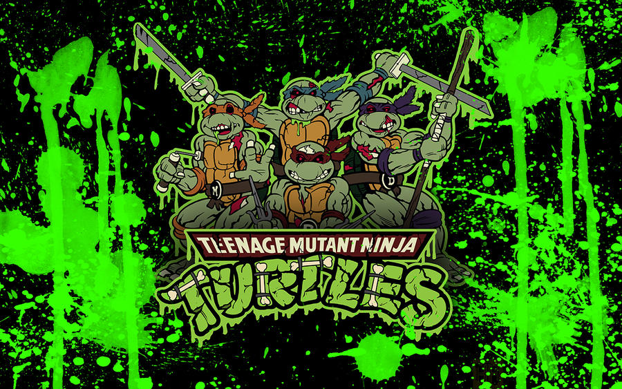 Zombie Ninja Turtles Wallpaper by Brandatello on DeviantArt