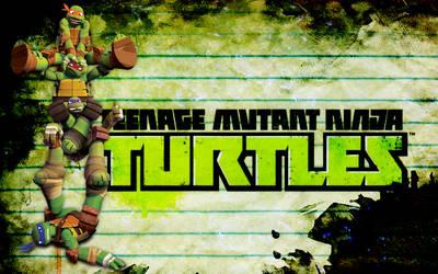 TMNT 2012 Nick Wallpaper 2 by Brandatello