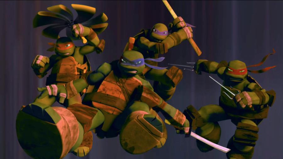 Turtle Power...err Booyakasha by Brandatello
