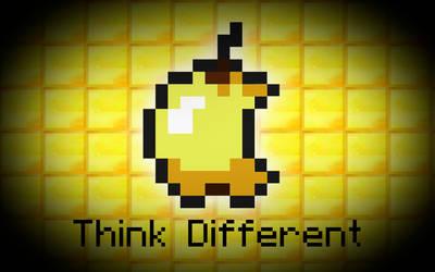 Minecraft: Think Different by Brandatello