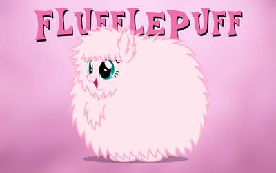 Fluffle Puff Wallpaper by Brandatello