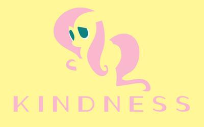 Kindness Minimal Wallpaper by Brandatello