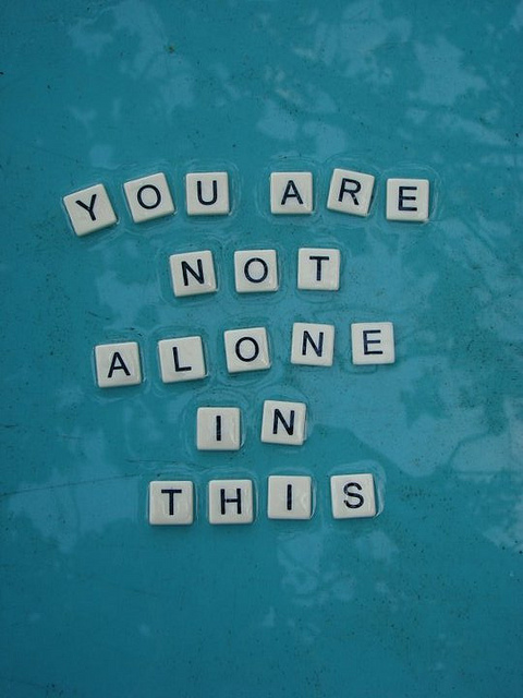 you are not alone by XxDarkDecember