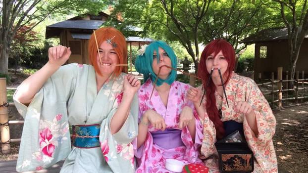 Orihime and Friends Kimono Adventures 2