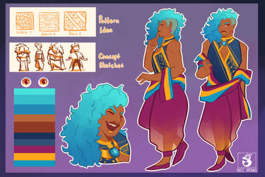 Vossa Reference Sheet by ducclord