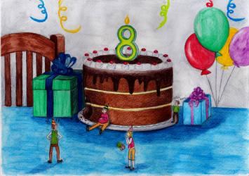 Eight by Alinnela
