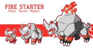 Fire Starter Evolution Line