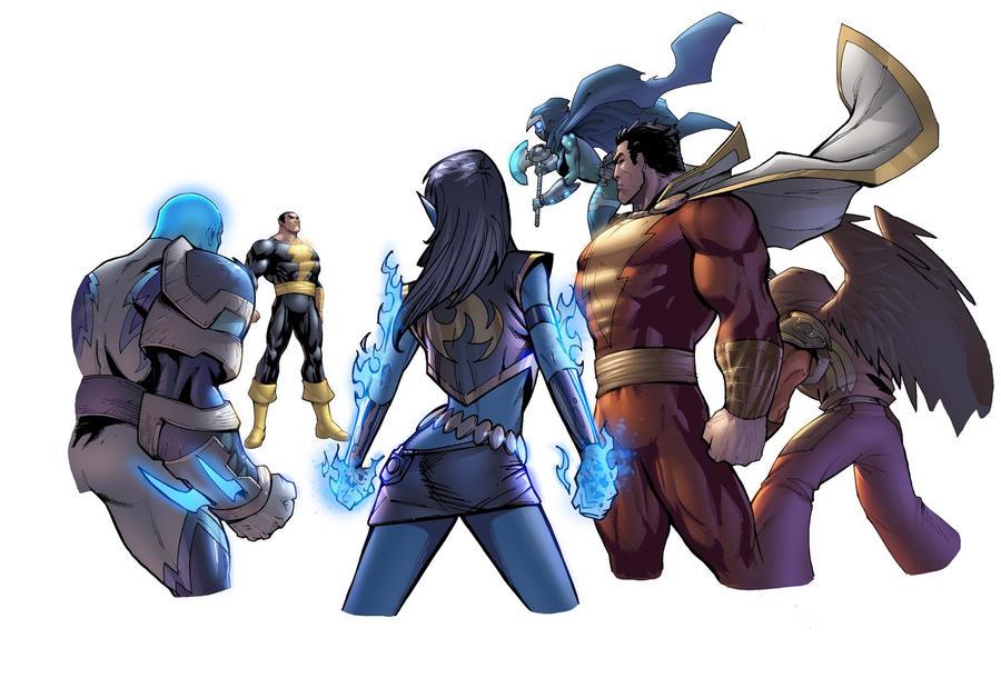 DC Universe Online Black Adam by GRAPHIKSLAVA