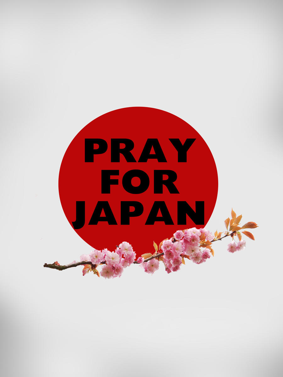 Pray for Japan by policegirl01