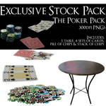 Exclusive Stock Pack - The Poker Pack by policegirl01