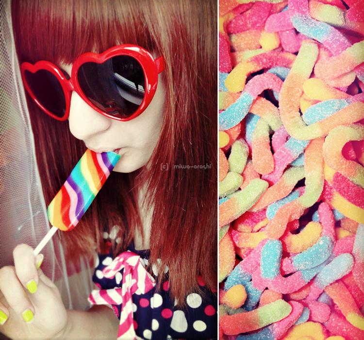 Sweet Heart Shaped World  by Miwa Arashi - TatL� A�k