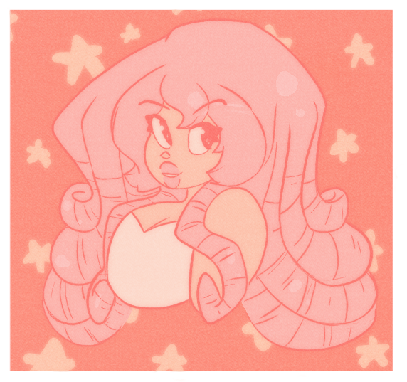 It's been a while since I've done a color palette challenge or drawn Rose so wapow Feel free to check out more on my Tumblr !