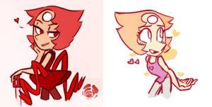Valentine Pearls