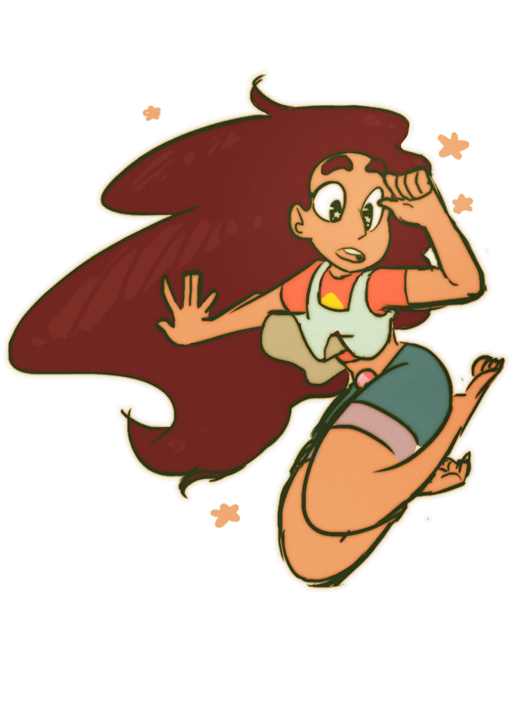 This is actually from a couple weeks ago, forgot to post here! I love drawing Stevonnie hnnnn Tumblr