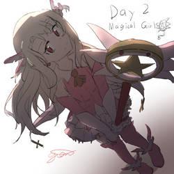 (Sketchtober 2020) Day 2 - Magical Girl
