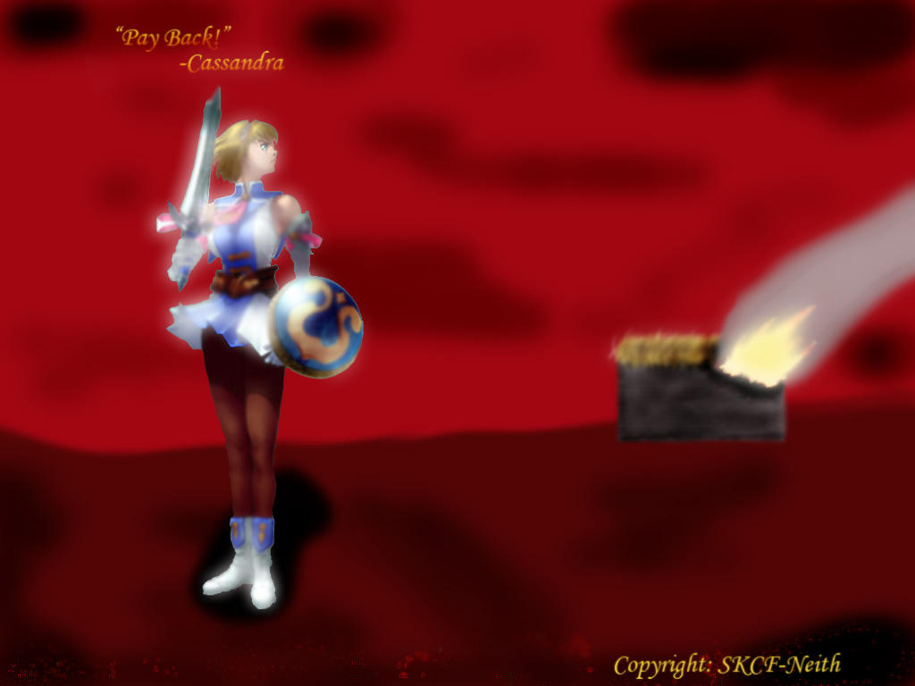 """""""Pay Back"""" -from Cassandra- by SKCF-Neith"""