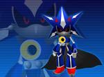 Neo Metal Sonic - Wallpaper