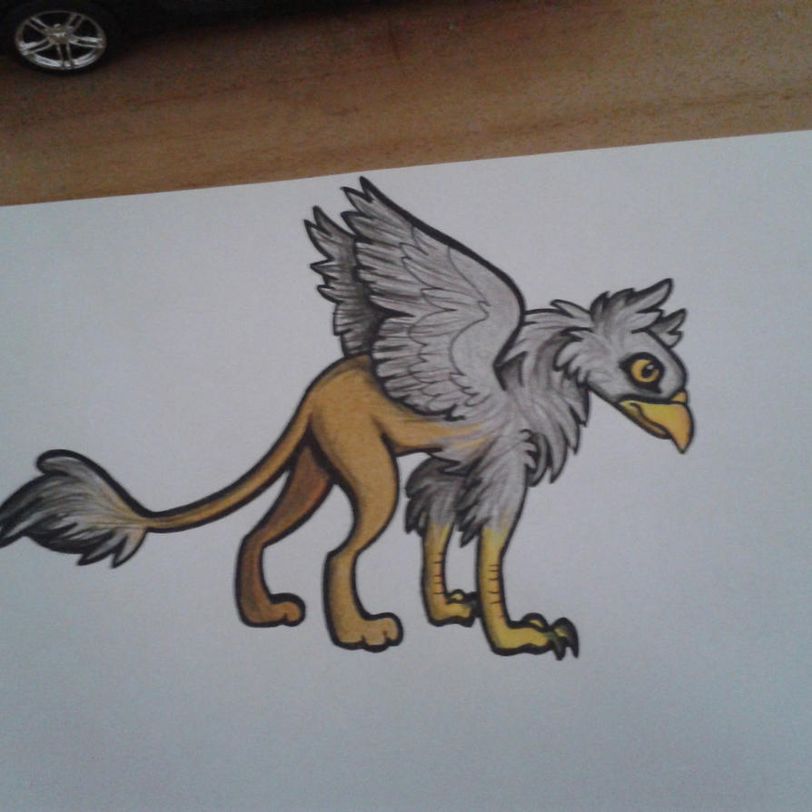 Gryphon by moor2012
