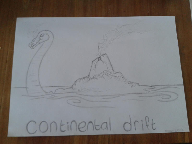 Continental drift by moor2012