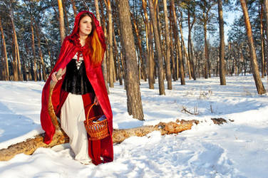Little Red Riding Hood by Kate-Slusarenko