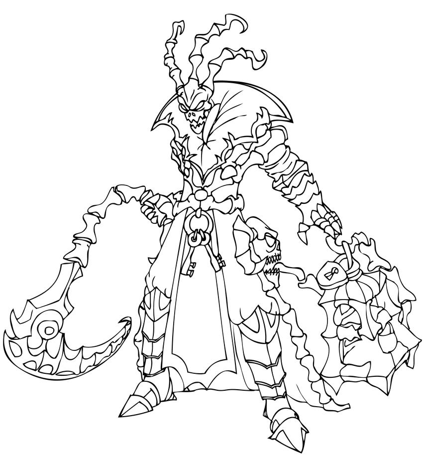 League of Legends Champion - Thresh by gonzagator on ...
