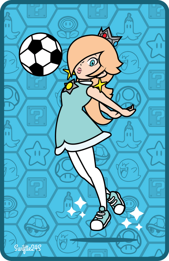 Soccer Rosalina (Mario Sports Superstars) by Swiftie24S