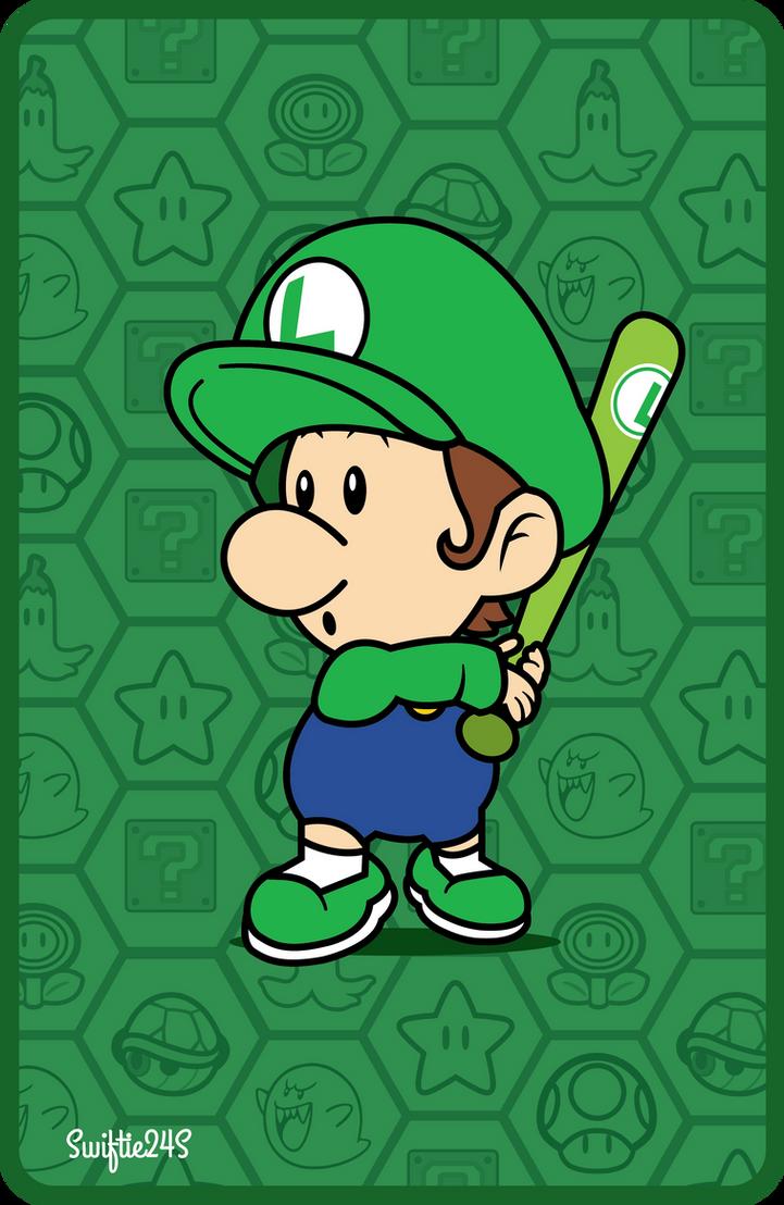 Baseball Baby Luigi (Mario Sports Superstars) by Swiftie24S