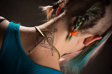 Franzi Tattoo by oodelaly