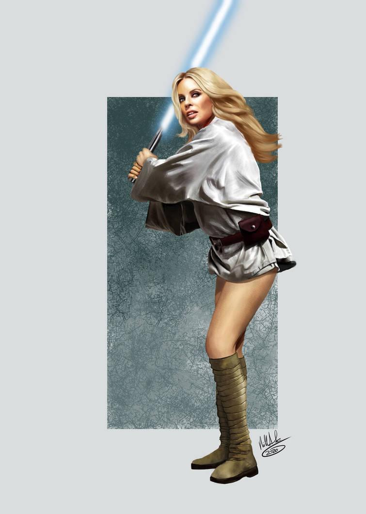 Kylie Minogue meet Star Wars: Love at First Jedi